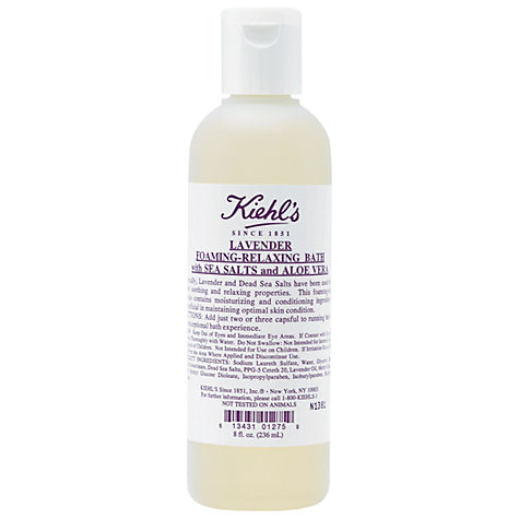Kiehl's Lavender Foaming-Relaxing Bath