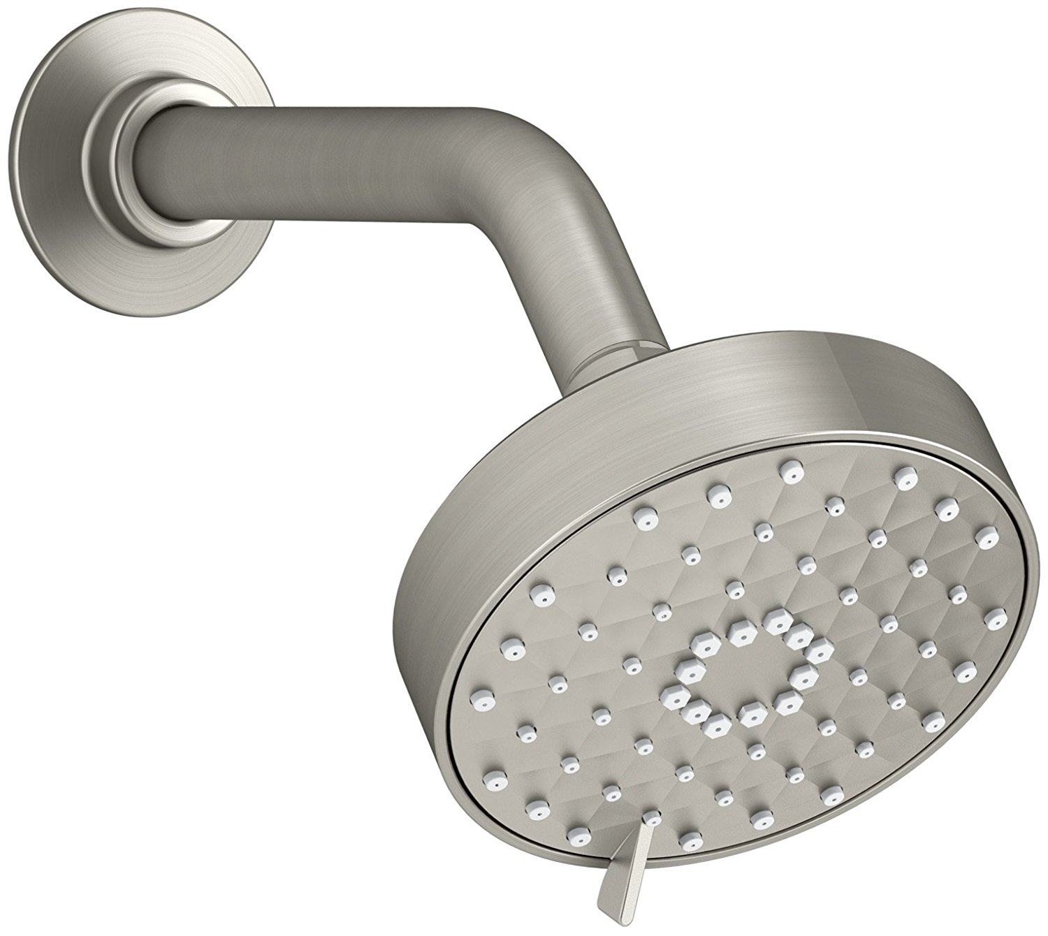 KOHLER K-72419-BN Awaken G110 Multifunction Showerhead, Vibrant Brushed Nickel