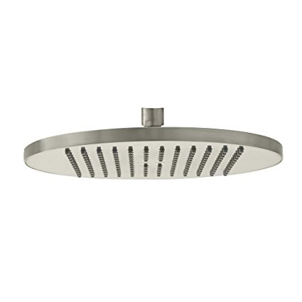 American Standard 1660.683.295 10-Inch Modern Rain Easy Clean Showerhead, Satin Nickel