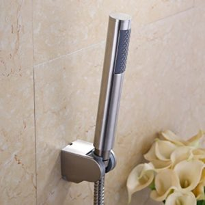 KES LP150 Bathroom Handheld Shower Head with Extra Long Hose and Bracket Holder